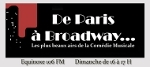 De Paris à Broadway : Irma La Douce…