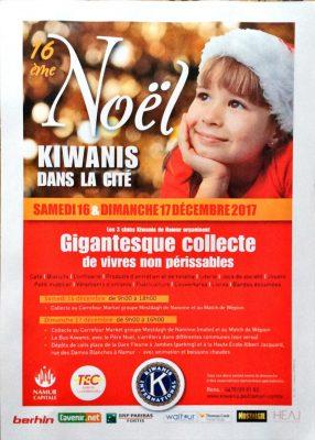 16 ième Noël Kiwanis dans la Cité